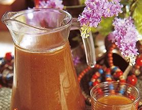 核桃红枣汁